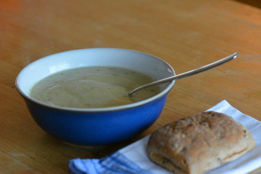 Celeriac and Horseradish Soup Recipe